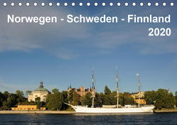 Norwegen – Schweden – Finnland (Tischkalender 2020 DIN A5 quer) von Haardiek,  Clemens