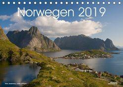 Norwegen (Tischkalender 2019 DIN A5 quer) von Dauerer,  Jörg