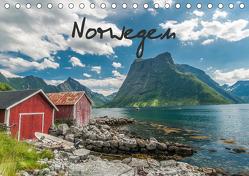 Norwegen (Tischkalender 2020 DIN A5 quer) von Burri,  Roman