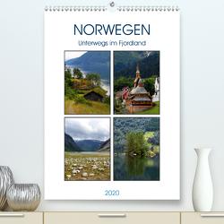 Norwegen – Unterwegs im Fjordland (Premium, hochwertiger DIN A2 Wandkalender 2020, Kunstdruck in Hochglanz) von Seidl,  Helene