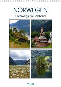 Norwegen – Unterwegs im Fjordland (Wandkalender 2020 DIN A3 hoch) von Seidl,  Helene