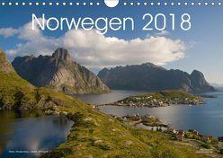 Norwegen (Wandkalender 2018 DIN A4 quer) von Dauerer,  Jörg
