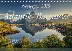 Norwegen – Zwischen Atlantik und Barentsee (Tischkalender 2019 DIN A5 quer) von Schiedl,  Bernd