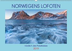 Norwegens Lofoten (Wandkalender 2019 DIN A2 quer) von N.,  N.