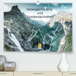 Norwegische Berg- und Fjordlandschaften (Premium, hochwertiger DIN A2 Wandkalender 2021, Kunstdruck in Hochglanz) von Sußbauer,  Franz