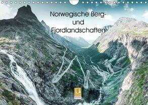 Norwegische Berg- und Fjordlandschaften (Wandkalender 2018 DIN A4 quer) von Sußbauer,  Franz