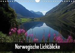 Norwegische Lichtblicke (Wandkalender 2021 DIN A4 quer) von Pons,  Andrea