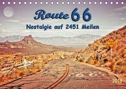 Nostalgie auf 2451 Meilen – Route 66 (Tischkalender 2018 DIN A5 quer) von Roder,  Peter
