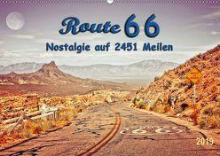 Nostalgie auf 2451 Meilen – Route 66 (Wandkalender 2019 DIN A2 quer) von Roder,  Peter