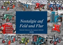 Nostalgie auf Feld und Flur (Tischkalender 2020 DIN A5 quer) von Härlein,  Peter