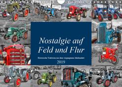 Nostalgie auf Feld und Flur (Wandkalender 2019 DIN A4 quer) von Härlein,  Peter