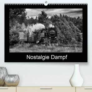 Nostalgie Dampf (Premium, hochwertiger DIN A2 Wandkalender 2020, Kunstdruck in Hochglanz) von Maurer,  Marion