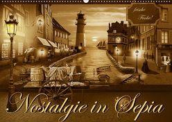 Nostalgie in Sepia (Wandkalender 2019 DIN A2 quer) von Jüngling alias Mausopardia,  Monika