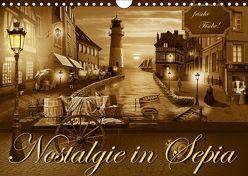 Nostalgie in Sepia (Wandkalender 2019 DIN A4 quer) von Jüngling alias Mausopardia,  Monika