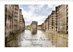 Nostalgischer Blick auf Hamburg (Wandkalender 2020 DIN A3 quer) von RavenArt