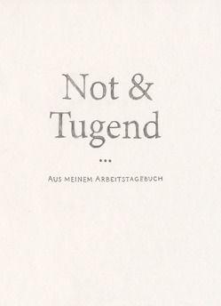 Not & Tugend von Mauersberg,  Toni