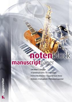 Notenblock von Voggenreiter Verlag