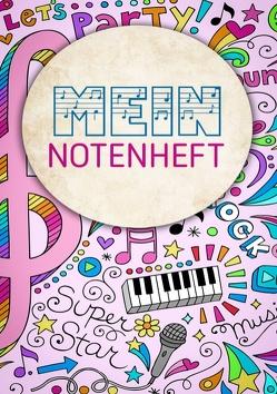 Notenheft A4 – Ideal für Musiker oder für den Unterricht von Dalet Bücher