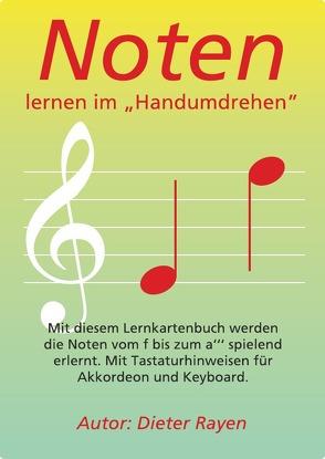 """Notenlernen im """"Handumdrehen"""" von Rayen,  Dieter"""