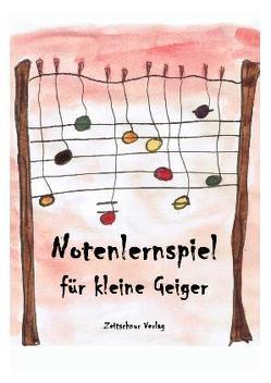 Notenlernspiel für kleine Geiger von Jüngling,  Hanna