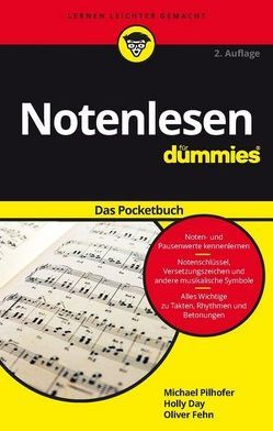 Notenlesen für Dummies Pocketbuch von Day,  Holly, Fehn,  Oliver, Pilhofer,  Michael