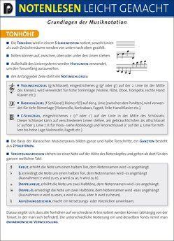 Notenlesen leicht gemacht von Erhart-Schwertmann,  Ursula