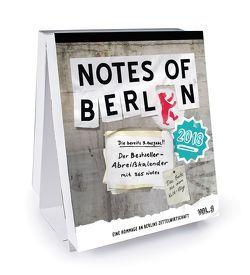 Notes of Berlin 2018 von Nist,  Joab