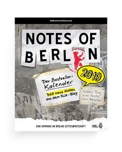 Notes of Berlin 2019 von Nist,  Joab