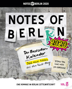 Notes of Berlin 2020 von Nist,  Joab, Seltmann,  Oliver