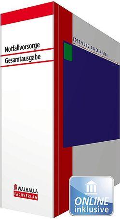 Notfallvorsorge – Gesamtausgabe in 11 Bänden von Walhalla Fachredaktion