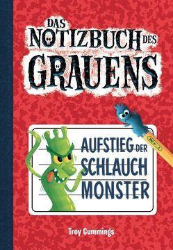 Notizbuch des Grauens Band 1 – Kinderbücher ab 6-8 Jahre (Erstleser Jungen Mädchen) von Cummings,  Troy