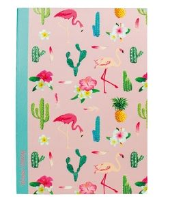 "Notizbuch ""Flamingo"" Softcover, 2 Motive"