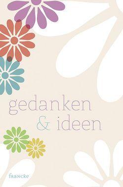 Notizbuch Gedanken & Ideen von G,  S