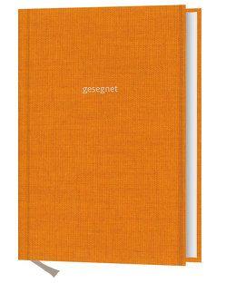 Notizbuch: gesegnet