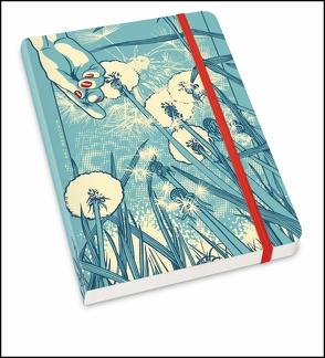 Notizbuch »Löwenzahn« – Illustration von Kat Menschik – Format DIN A5 von Menschik,  Kat