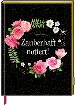 Notizbuch mit glitzerndem Stoffeinband – Zauberhaft notiert! (M. Bastin) von Bastin,  Marjolein
