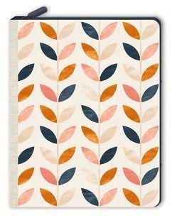 Notizbuch mit Reißverschluss – Blätterrauschen