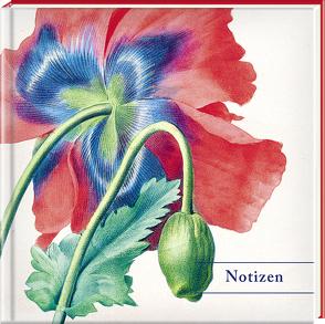 Notizbuch Mohn