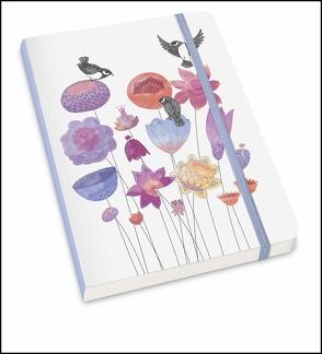 Notizbuch »MOKA« – Mit floralem Design von »Lovely Objects« – Format DIN A5 von Landon,  Justin