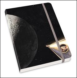 Notizbuch Mondlandung 2020 – Torben Kuhlmann – Format DIN A5 von DUMONT Kalenderverlag, Kuhlmann,  Torben
