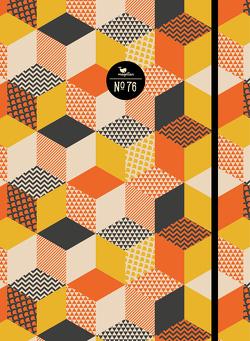 Notizbuch No. 76 – Orange Cubes