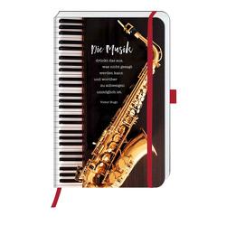 Notizbuch »Saxophonmusik«