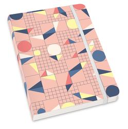Notizbuch »Testbild« – Haferkorn & Sauerbrey – Format DIN A5 von DUMONT Kalenderverlag, Haferkorn & Sauerbrey