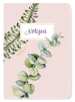 Notizheft Blütenzauber Eukalyptus von Groh Kreativteam
