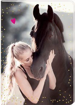 Notizhefte – I LOVE HORSES – DIN A5 von Dörre,  Mona