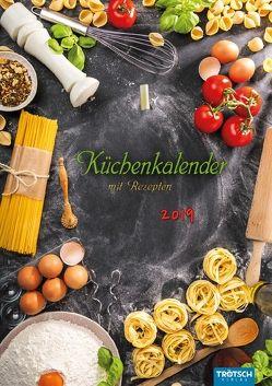 "Notizkalender ""Küchenkalender"" 2019 mit Rezepten"