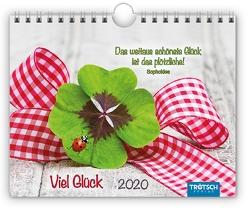 "Notizkalender ""Viel Glück"" 2020"