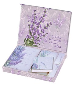Notizzettelbox »Lavendel«