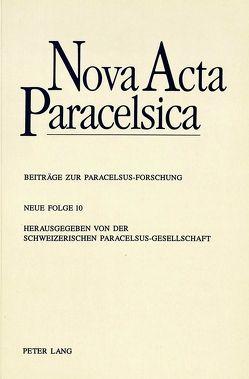 Nova Acta Paracelsica von Haas,  Alois M.