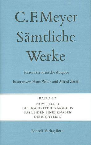Novellen II von Meyer,  C F, Meyer,  Conrad Ferdinand, Zäch,  Alfred